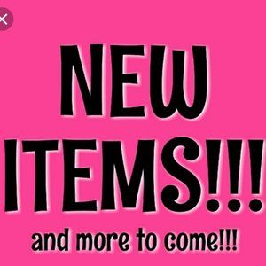 New Items Just added to my closet. More to Come